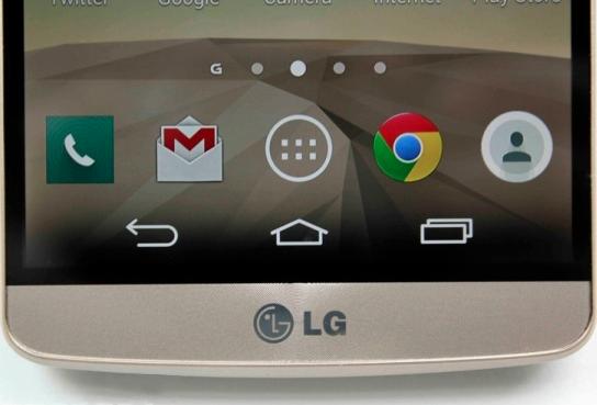 LG G3 ekran