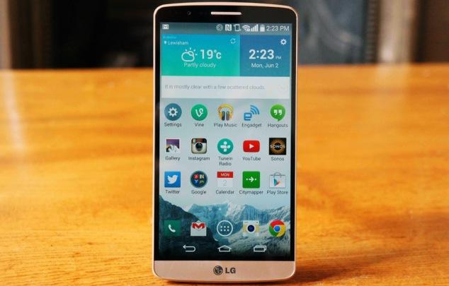 LG G3 Ön