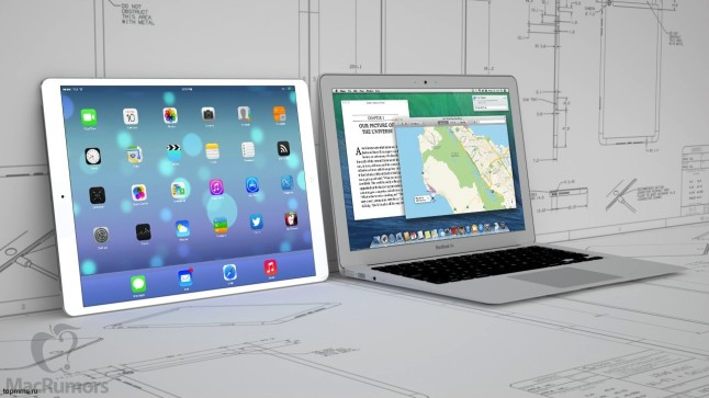 12,9 inç'lik iPad Pro ve 13,3 inç'lik Macbook Air