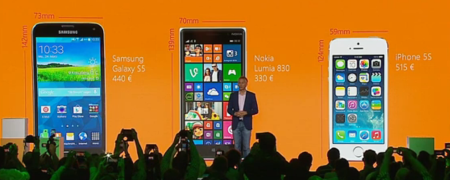 s5 lumia 830 iphone 5s