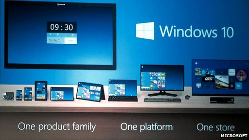 windows 10 unify