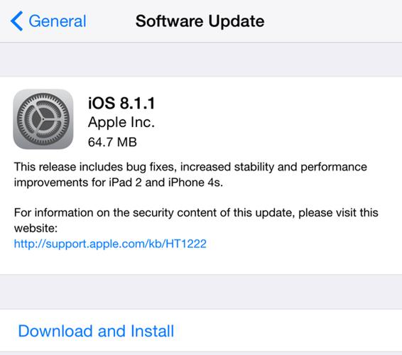 iOS 8 1 1